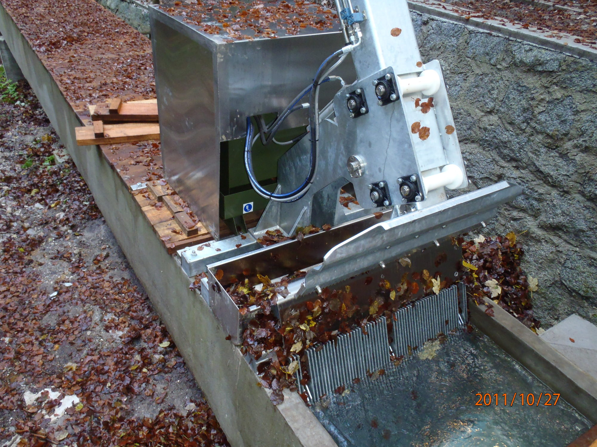 Rechenreiniger Einfache-Teleskopausführung