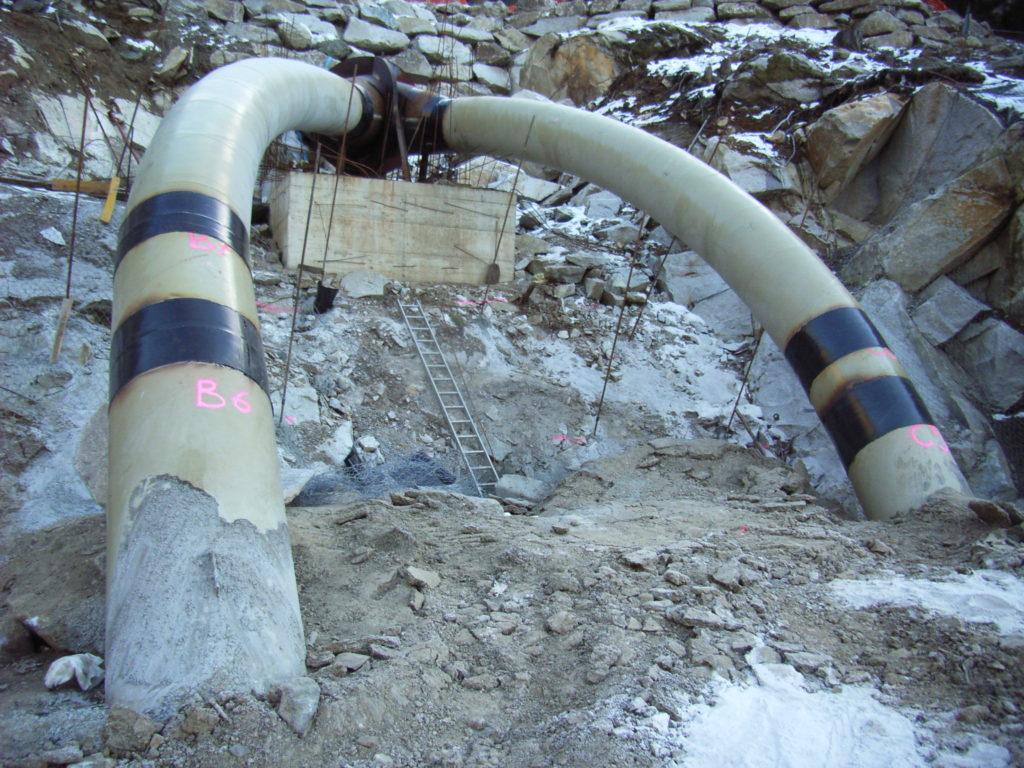 Hosenrohr für Turbinenzulauf
