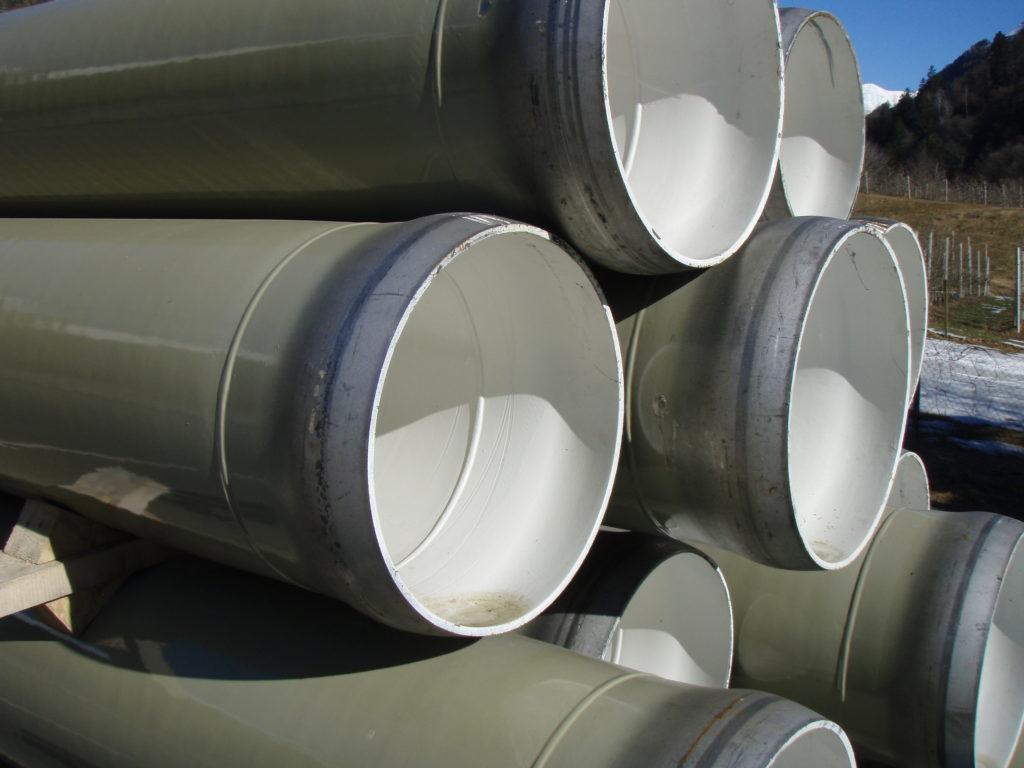 Stahlrohre mit Kugelschweißmuffen