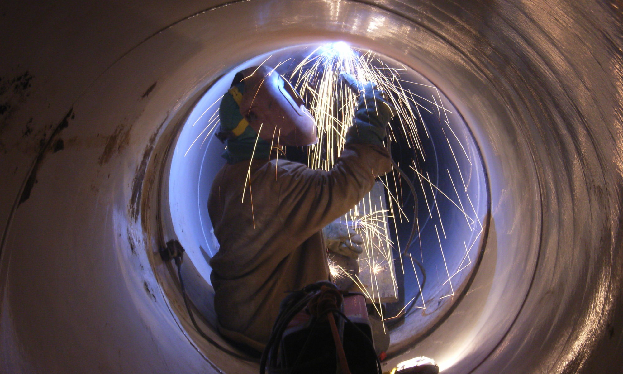 Schweißen von Druckleitungen
